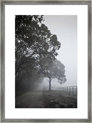 Farm Road Framed Print by 2BDesign