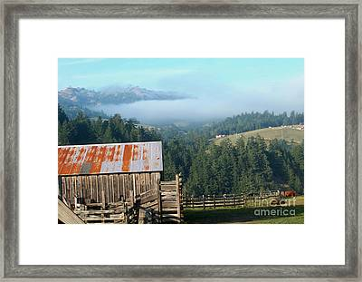 Farm View  Framed Print by The Kepharts