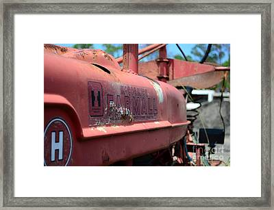 Farmall Logo Framed Print