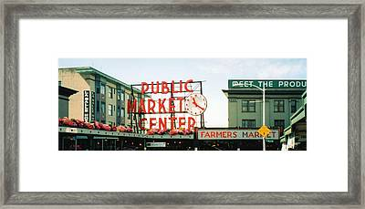 Framed Print featuring the photograph Farmer's Market by C Sitton