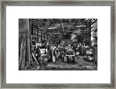 Farmers Workshop Framed Print by Dan Friend