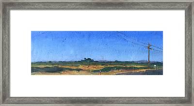 Farmscape 1 Framed Print by Dayton Claudio