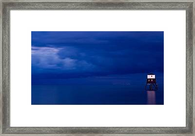 Faro Framed Print by Guillermo Luengas