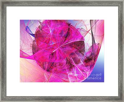 Fascination Framed Print by Andee Design