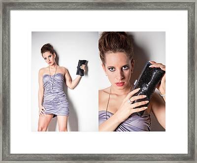 Fashion Collage Framed Print