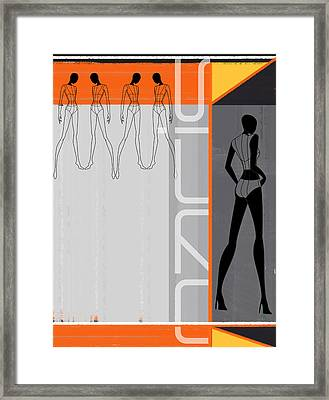 Fashion Dance Framed Print