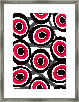Fashion Spots  Framed Print by Louisa Knight