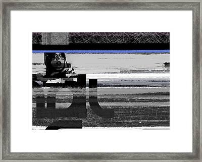 Fashionista Framed Print by Naxart Studio