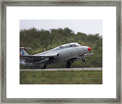 Fast And Loud Framed Print by Betsy Knapp