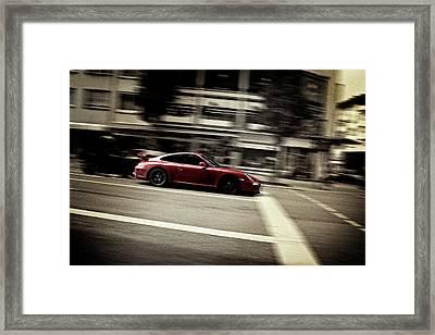 Fast Framed Print by Gabriel Calahorra