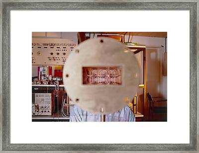 Faster-than-light Equipment Framed Print by Volker Steger