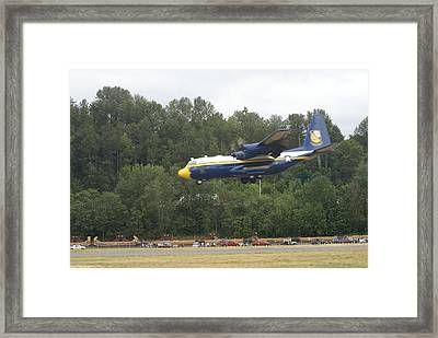 Fat Albert Framed Print by Jerry Cahill