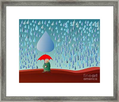 Fate Framed Print by Michal Boubin