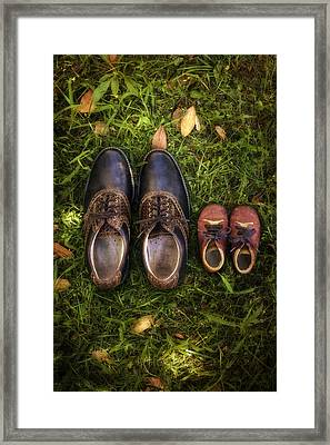 Father And Child Framed Print by Joana Kruse