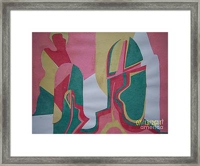 Father Who. Framed Print by E  Nortex