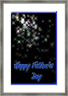 Fathers Day Card 2 Framed Print