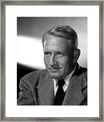 Fathers Little Dividend, Spencer Tracy Framed Print