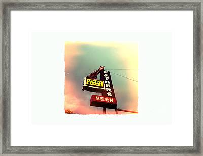 Father's Office Framed Print by Nina Prommer