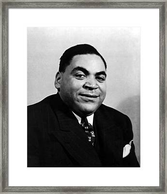 Fats Waller, Real Name Thomas, Ca. 1930s Framed Print by Everett