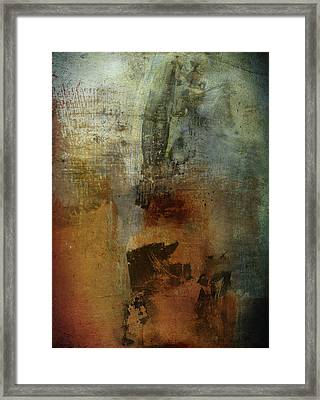 Faults Of Mine  Framed Print by Empty Wall