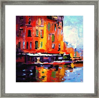 Fauvo Porto Framed Print by R W Goetting