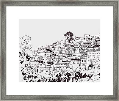 Favelas  Framed Print by Ben Leary