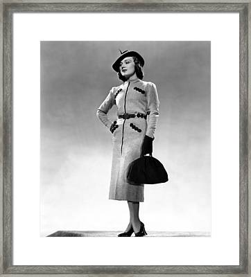 Fay Wray, Columbia Pictures, 1937 Framed Print