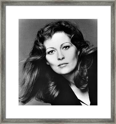 Faye Dunaway, 1980 Framed Print