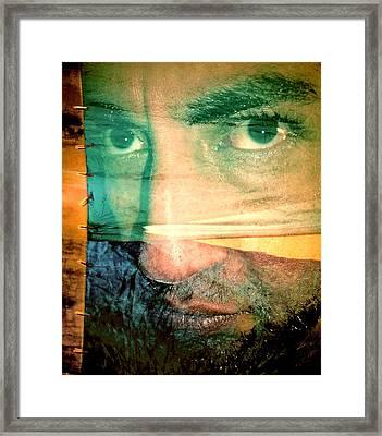 Fear Framed Print by Beto Machado