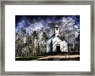 Fear Framed Print