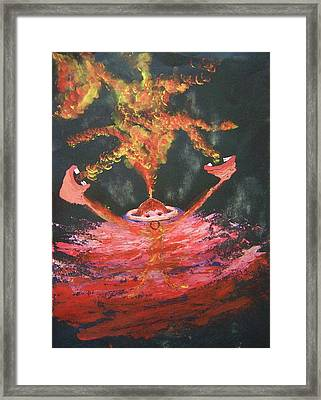 Fearless Rage Framed Print by Deahn      Benware