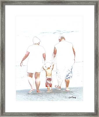 Fearless When You're With Me Framed Print by David Lee