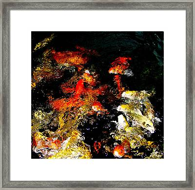 Feasting Dance Framed Print