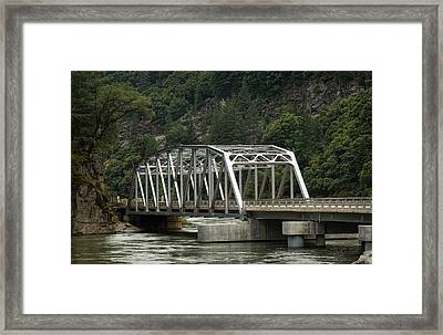 Feather River Bridge Framed Print by Gary Rose