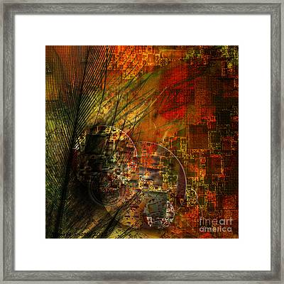 Feather Touch Framed Print by Monroe Snook