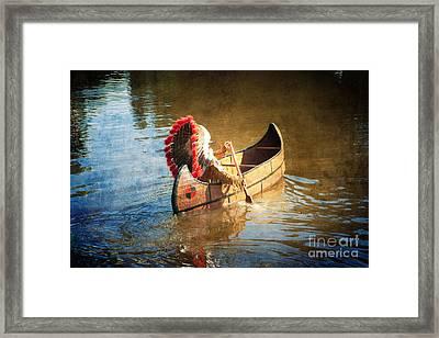 Feather Warbonnet Framed Print by Boris Suntsov