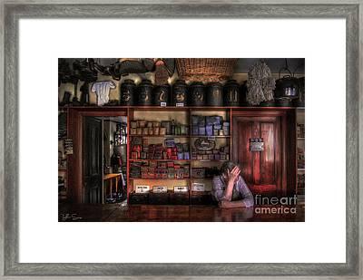 Fed Up Framed Print by Yhun Suarez