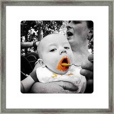 Feed Me Seymour! Framed Print