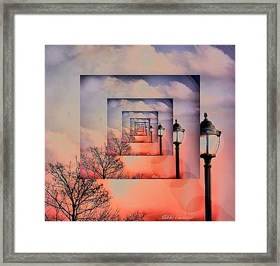 Feedback Framed Print by Mikki Cucuzzo