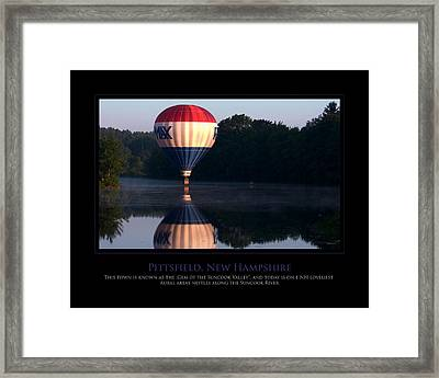 Feel Like Floating Framed Print by Jim McDonald Photography