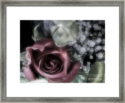 Framed Print featuring the photograph Feel My Breath by Janie Johnson