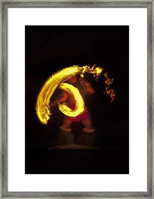 Feel The Heat Framed Print by Mike  Dawson