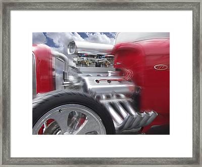 Feel The Power Framed Print