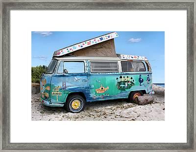 Feelin' Groovy Framed Print by Kristin Elmquist