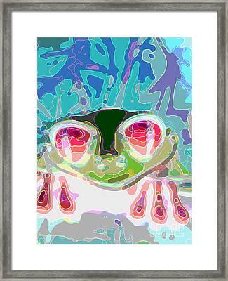 Feeling Froggy Framed Print