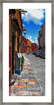 Feeling Groovy Framed Print by John  Kolenberg