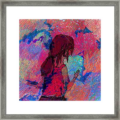 Feeling The Colors Framed Print