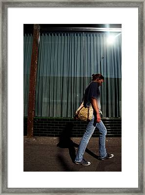 Feels Like A Lost Day Framed Print by Jez C Self