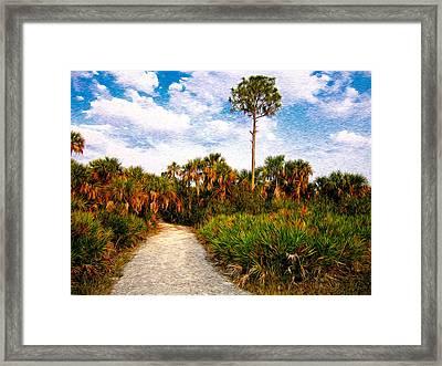Feels Like Home Framed Print by Rich Leighton