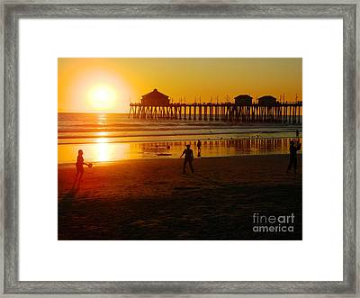 Framed Print featuring the photograph Feels Like Summer by Everette McMahan jr